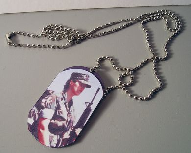 Dog Tag with Chain